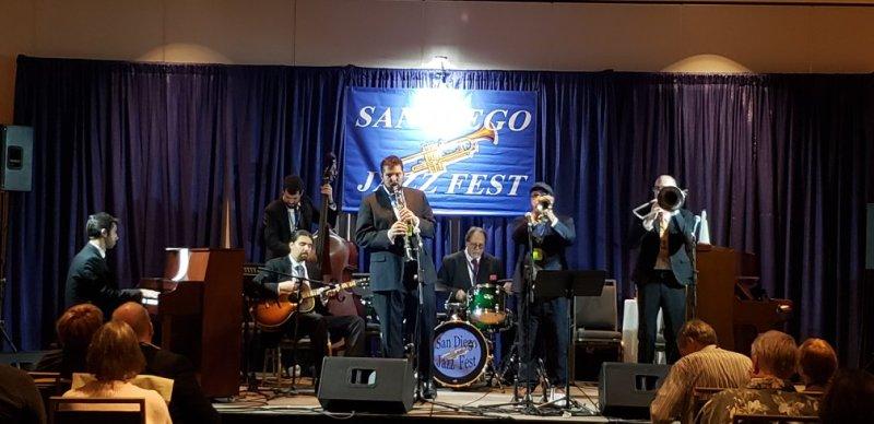 Levee at San Diego Jazz Fest 2018