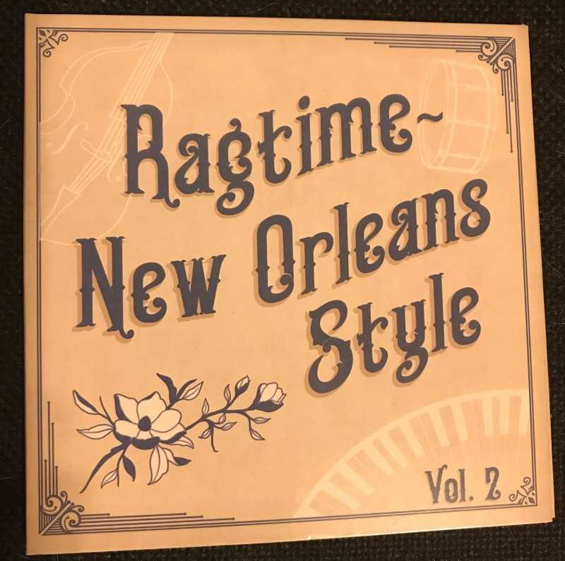 Ragtime CD Cover